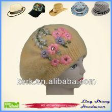 LSA16 Ningbo Lingshang Winter angora winter hot sale ladies' hat