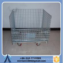 Venta caliente alta resistencia y polvo de calidad cubierta de jaula de alambre