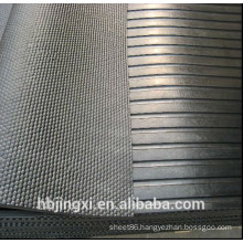 Wide Ribbed Front Stable Cow Rubber Mat For Sale