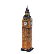 Small Big Ben Building Puzzle