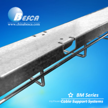 Hot Dip Galvanized Steel Wire Mesh Cable Tray Flat Cover