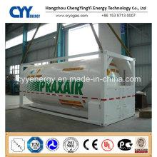LPG LNG Lox Lin Lar Lco2 ISO Tank Container