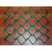 Airport galvanized chain link fence