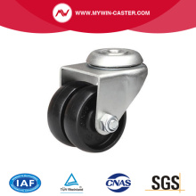 80 kg Bolt Hole Swivel PA Machine Caster