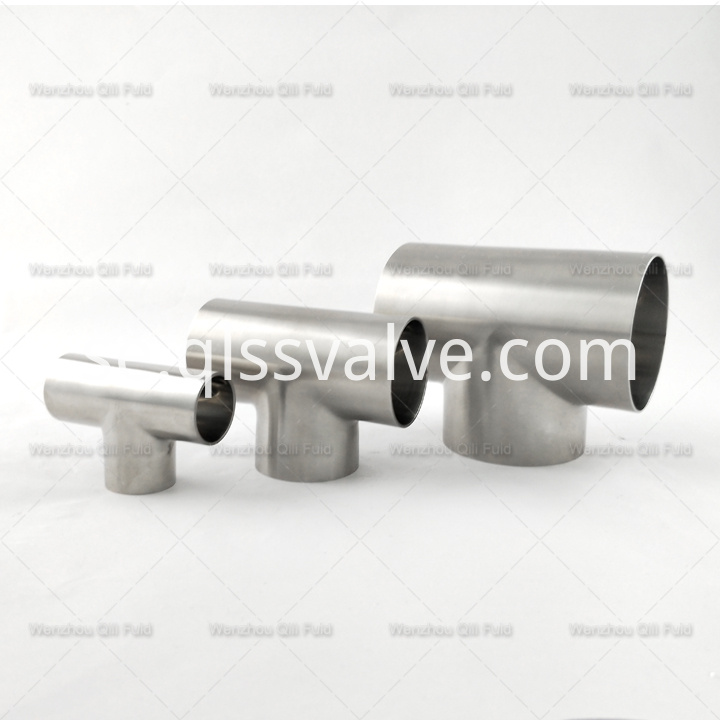 Sanitary pipe fittings Tee x54