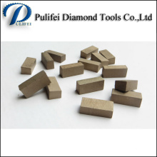 Granite Marble Diamond Cutting Segment with Small Saw Blade