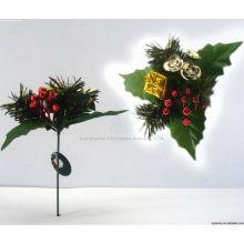 Plástico Decorativo al por mayor adornos de Navidad proveedores, Navidad recoge