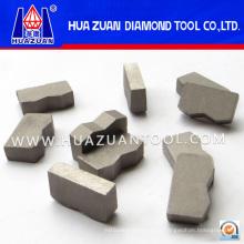Diferentes tipos Segmentos de diamante para corte de granito (HZ257)