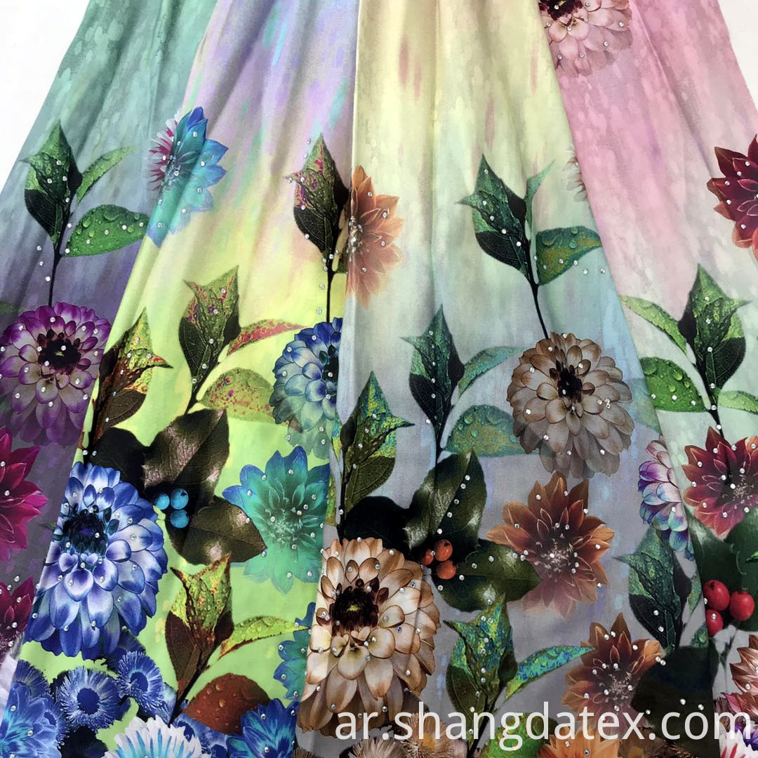 digital print fabric for dress