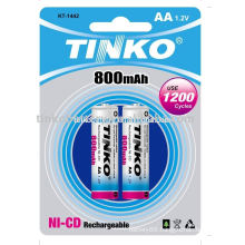 Rechargeable Battery(ni-cd size AA)
