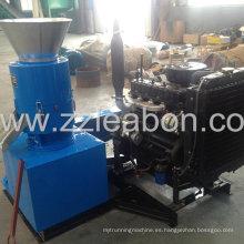 2015 Máquina de pellet diesel de venta caliente para madera