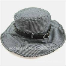 Chapeaux à fourre-tout en cuir
