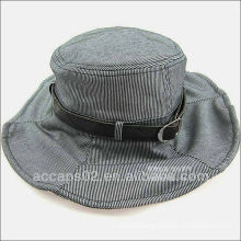 cheap leather strap bucket hats