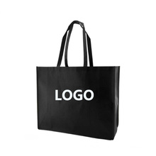Manufacturer cheap price custom logo printed eco friendly fabric carry polypropylene grocery lamination nonwoven shopping bag