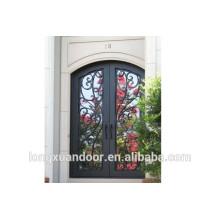 Diseño de puerta principal, puerta de hierro forjado, puertas de entrada
