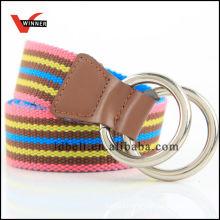2014 Hot Sale Colorful stripe Canvas Belts