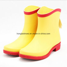 Fresh Color Fashion Lovely Ladies Rubber Boots