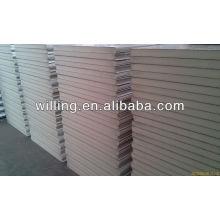 polyurethane sandwich panel for prefabricated steel structure , Lightweight /EPS sandwich panel/EPS sandwich roof panel