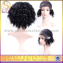 Online Shopping India Curly With Baby Hair Human Lace Front Wig