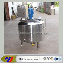 Edelstahl-Flüssigkeits-Mischbehälter-Pasteurisierungs-Maschine