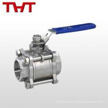 Ду15 3 шт шариковый клапан cf8m резьбой BSP инкапсулированный шаровой кран