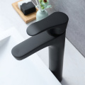 HIDEEP Black Brass Above Counter Basin Faucet