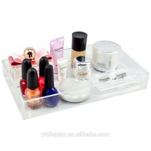 Maßgeschneiderte hohen klaren Acryl Make-up Zubehör Halter