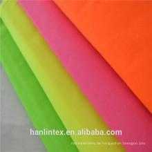 Plain Dyed TC 90/10 96X72 Pocket Fabric Futter Stoff