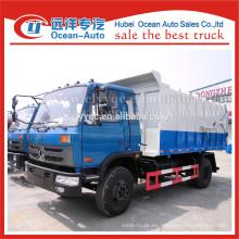 2015 nueva condición dongfeng capacidad de acoplamiento de camión de basura