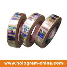 3D Laser Rainbow Custom Hologram Hot Stamping Foil