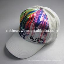Bonnet de sport coloré pour enfants à 5 panneaux