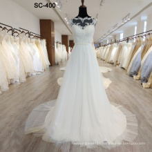 100 Available Quantity and Lace Decoration women wedding dress