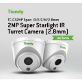 TC-C32HP Dome Camera POE WDR 2MP Super Light