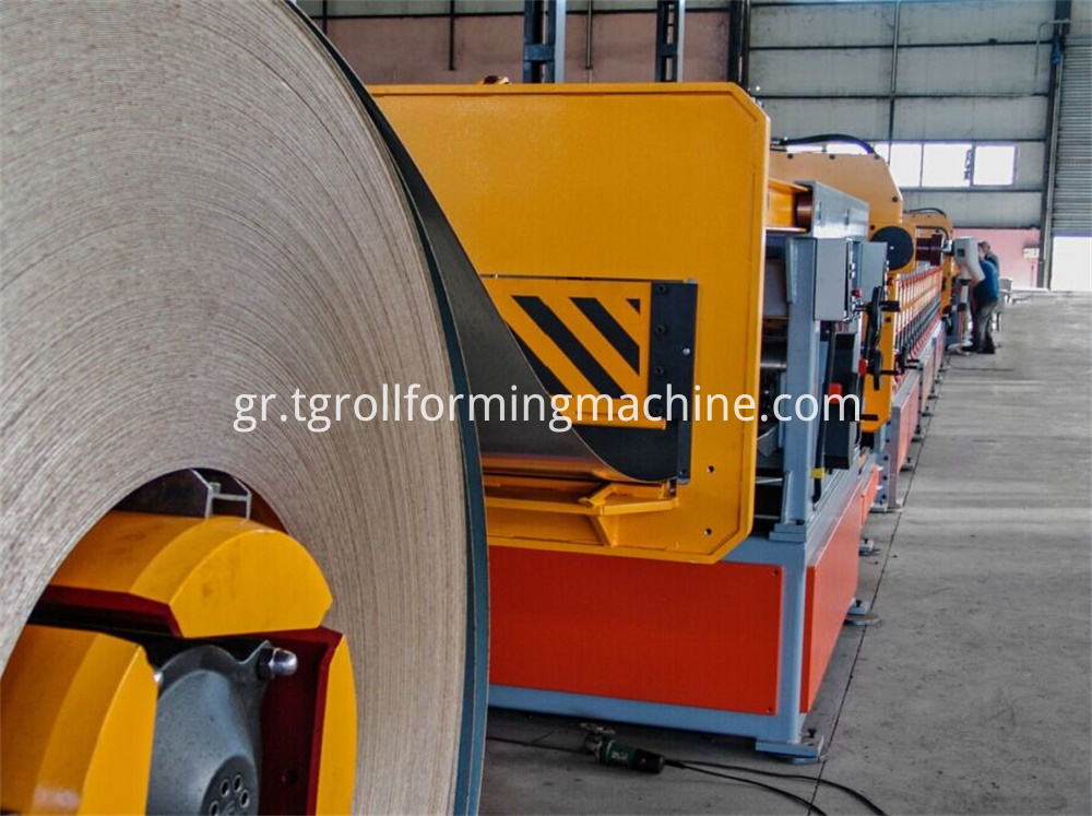 Steel Silo Sheet Corrugated Forming Machine