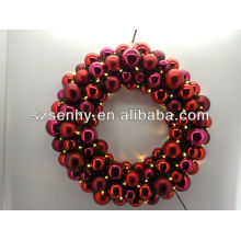 new model christmas ball wreath