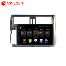 Multimedia Player GPS Tracker With Camera Android8.1 Car audio system For 2010 Toyota Prado