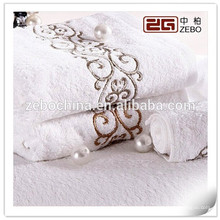 2015 Personalized Embroidery Logo Egyptian Cotton Soft Best Luxury Towels
