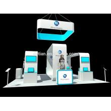 affichage démontable de publicité de cabine d'île démontable de profil en aluminium de Changhaï pour l'équipement d'exposition