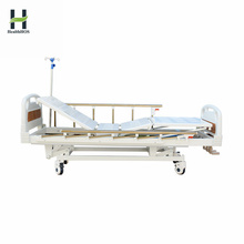 Hospital medical practical three function manual sickbed