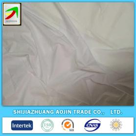 100% cotton mercerised optical white sheeting down-proof