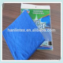 Único pacote pano de limpeza toalha de microfibra