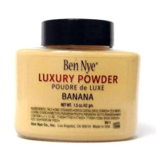 Ben Nye Luxury Powder 42g New Natural Face Loose Powder Waterproof Nutritious Banana Brighten Long-Lasting