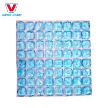 64 Cells 3D Cutable Ice Sheet/Flexible Ice Mat/Reusable Gel Ice Pack