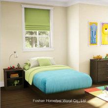 3 Piece Kids Chocolate Bedroom Furniture Set de cama e cômoda
