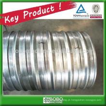 Máquina de fabricação de tubos de canalização de metal ondulado