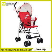 Carrinho de criança removível da almofada, carrinho de criança da boneca com assento de carro, roda para o carrinho de criança de bebê