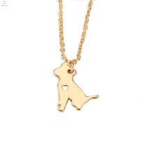 Personnalisé Gold Animal Pet Dog Collier Pendentif