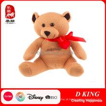 Urso de peluche enchido do brinquedo do luxuoso da peluche da peluche da promoção