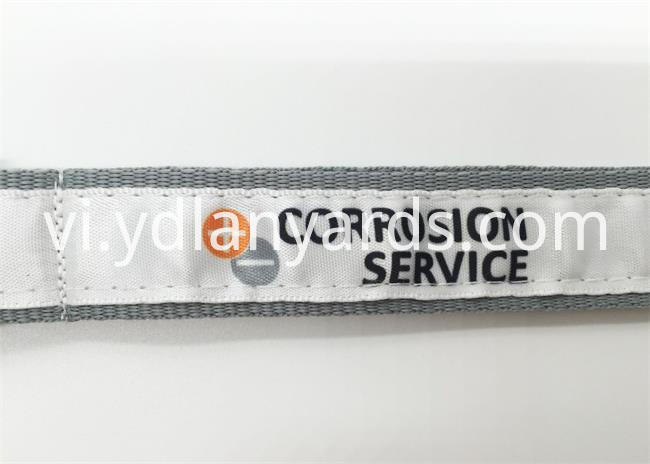 Fashion Design Woven Lanyards
