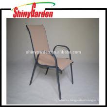Hot Sales Steel Frame Commercial Indoor/Outdoor Restaurant Stack Stackable Chair